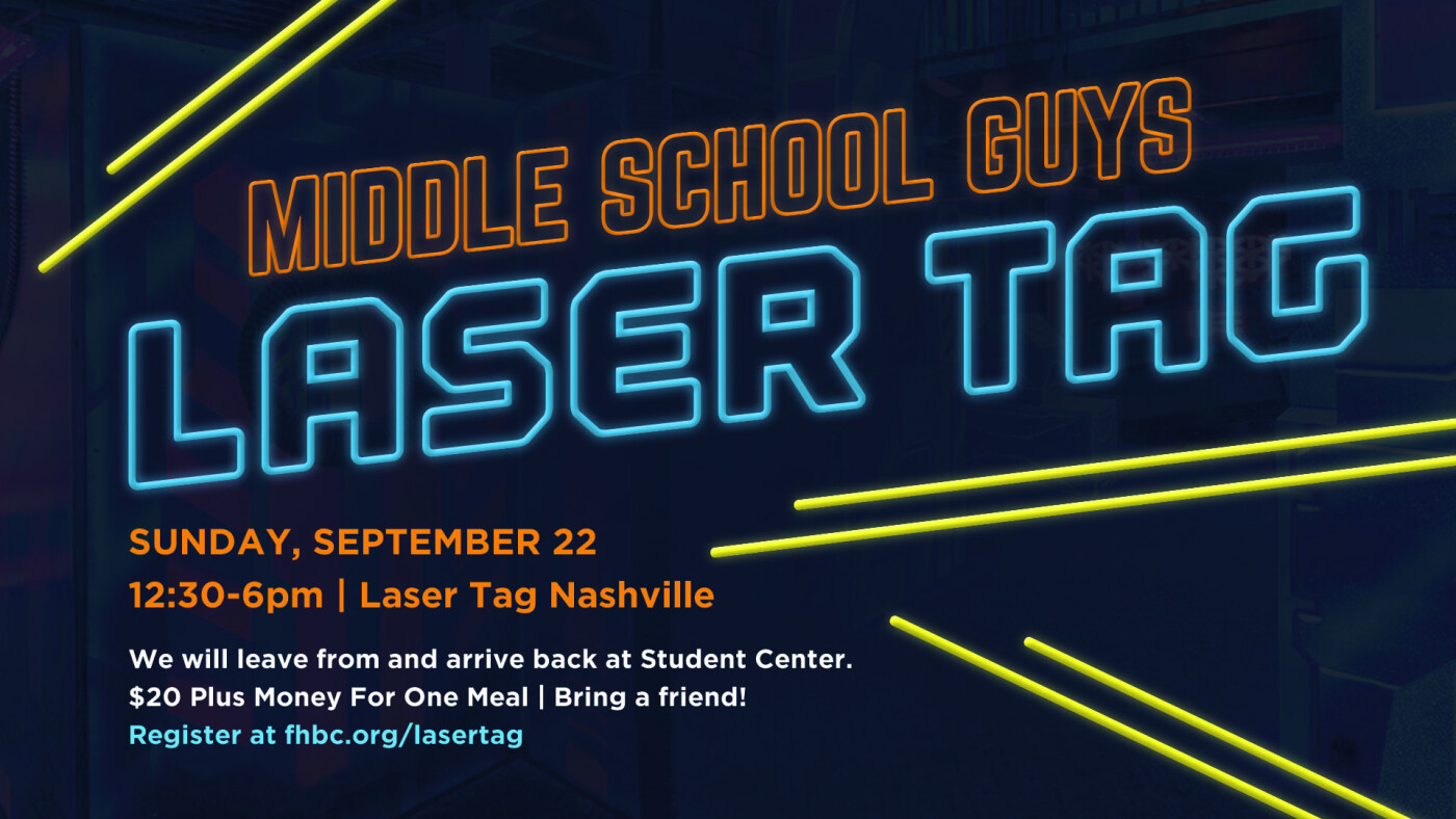 Middle School Guys Laser Tag